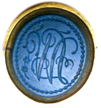 Lawrence Washington Seal done by Robert Scot georgewashingtoninauguralbuttons.com O