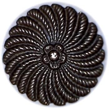 1775 to 1794 Généraux General 17mm Cuff Silver RJ Silversteins georgewashingtoninauguralbuttons.com R