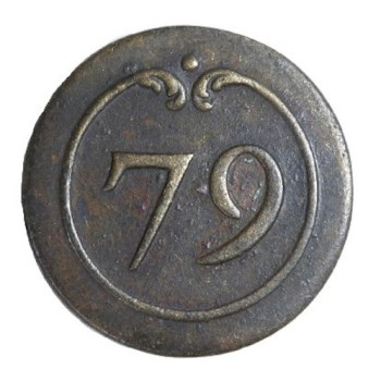 77th French Regiment Pre-1776 don T