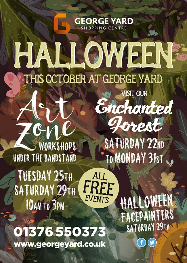 George Yard Halloween A5 flyer 280916.cdr