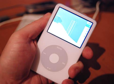 Mein toter iPod - nun eine 60GB-Wechselfestplatte :-(