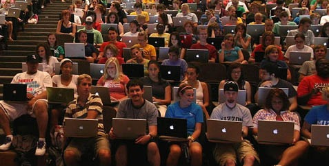 Journalismus-Lehrgang an der Uni Missouri, Herbst 2007