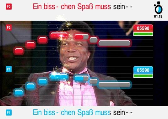 (c) Sony, RobertoBlanco in Singstar :-(