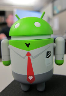Android-Maskottchen (CC) Robert Occhialini