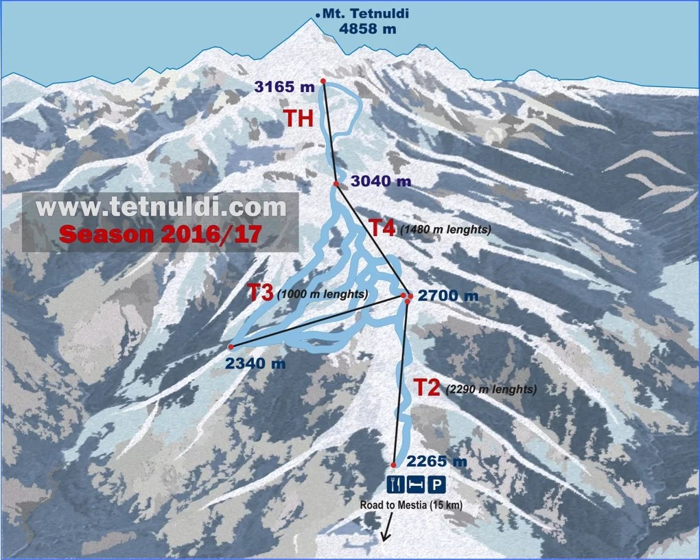 Tetnuldi winter in Svaneti