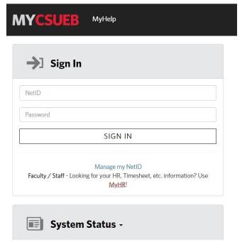 Blackboard CSUEB Login