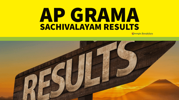 AP Grama Sachivalayam Results 2019 Grama Ward