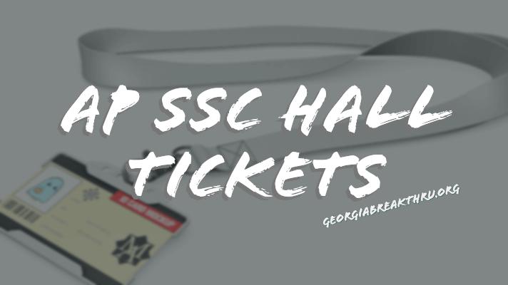 AP SSC Hall Tickets 2020 Manabadi 10th class