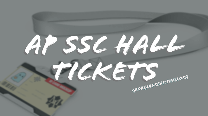 AP SSC Hall Tickets 2020 Manabadi 10th class