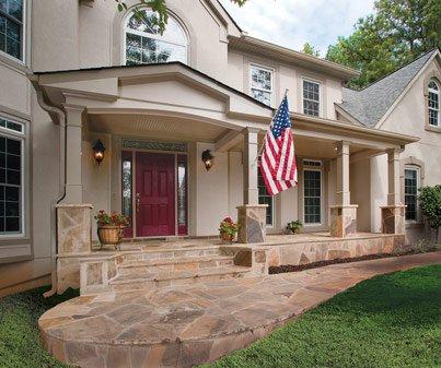 front porch builders front portico