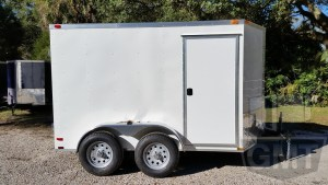 6 x 10 Tandem Axle Enclosed Trailer Standard Image