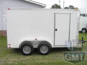 6 x 12 Tandem Axle Enclosed Trailer Standard Image