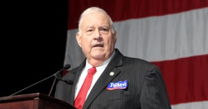 Georgia Republican Party Chairman John Padgett at the Georgia GOP convention in May 2015. Photo: Jon Richards