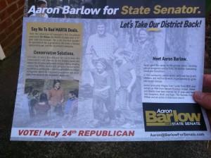 Aaron Barlow Flyer