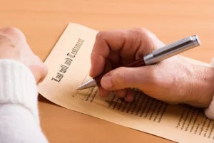 Does a last will and testament matter?