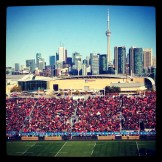 A Rugby Match in Toronto