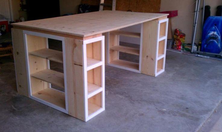04587cabe9b5faa593310867cdd1f216 craft desk craft tables