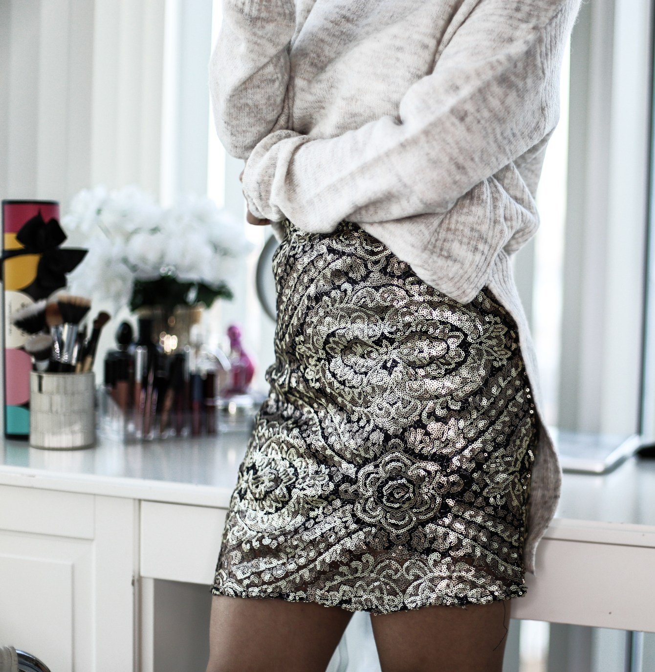 Sequins and Sweaters