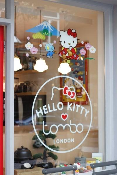 Hello Kitty Pop Up at Tombo Fitzrovia, London