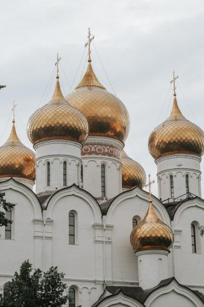 Church of the Assumption yaroslav russia