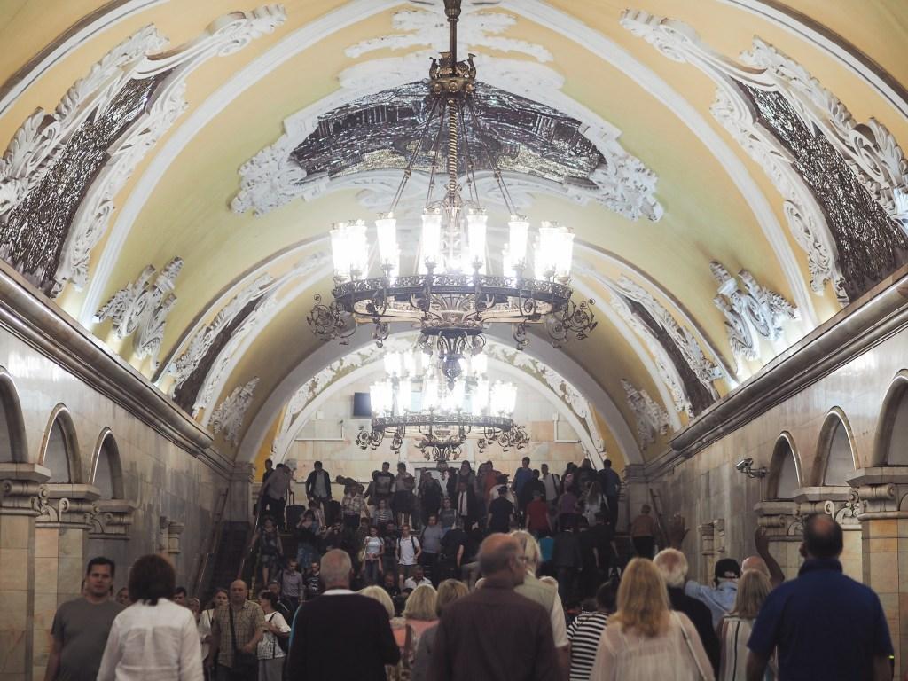 Komsomolskaya Moscow Metro Station