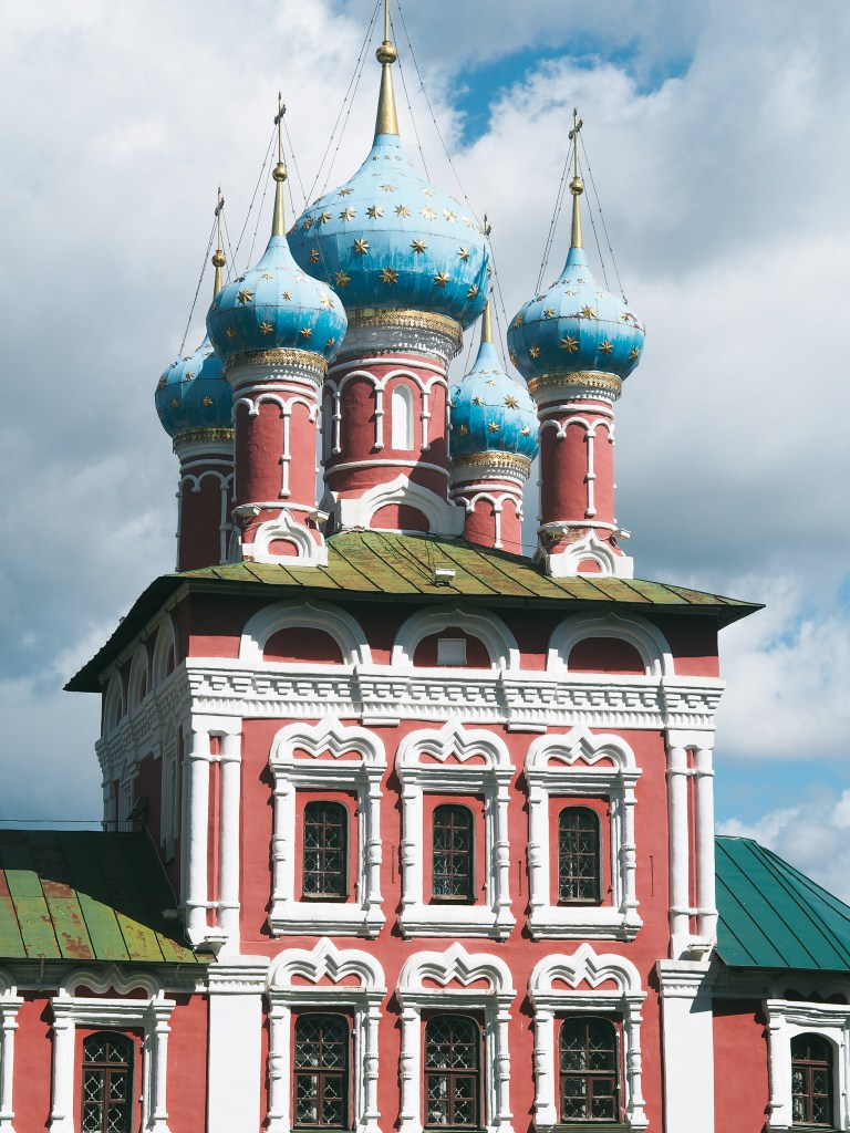 The Church of St. Dmitry on the Blood uglich