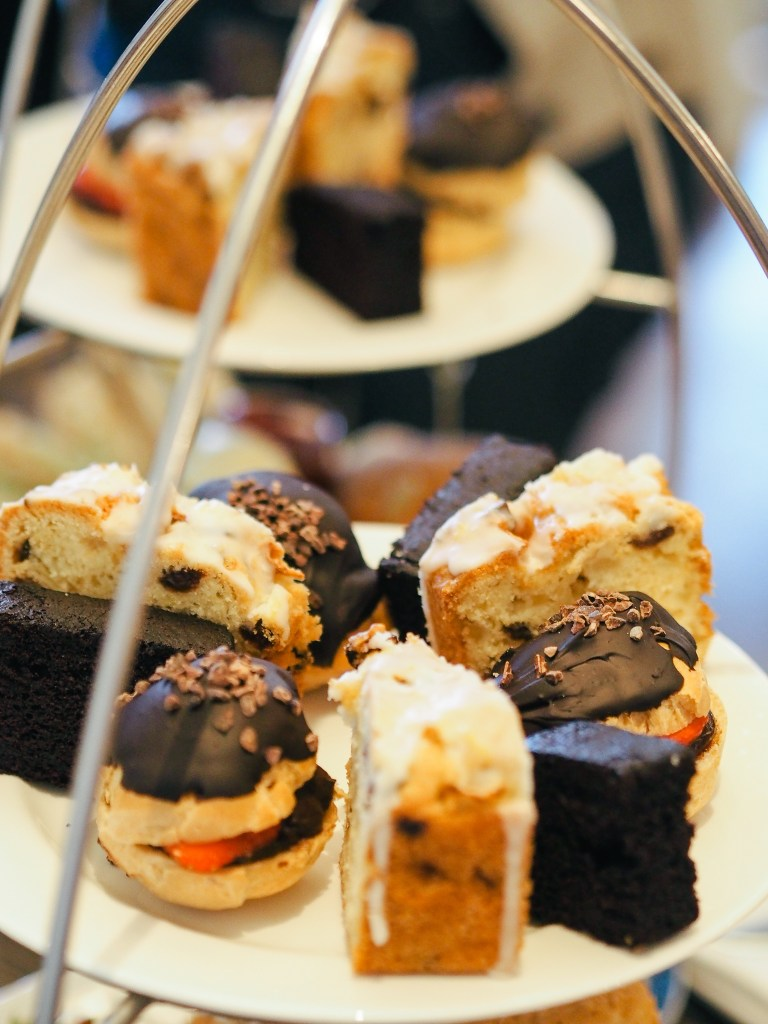 dairy free cakes afternoon tea christchurch harbour hotel dorset