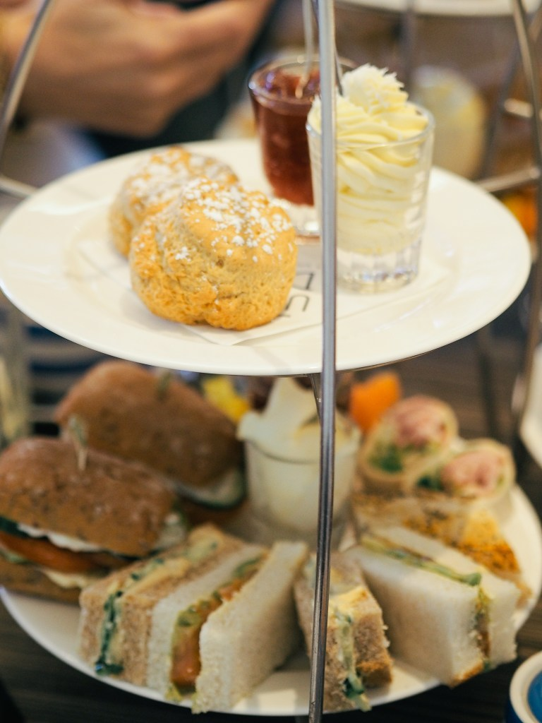 dairy free afternoon tea christchurch harbour hotel dorset