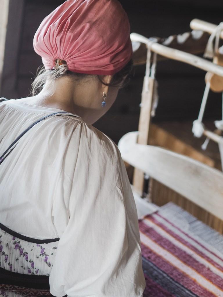 russian weaving kizhi island