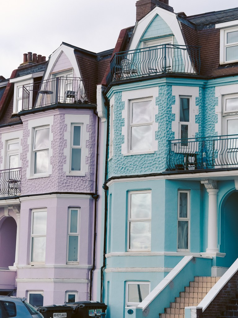 pastel houses bournemouth