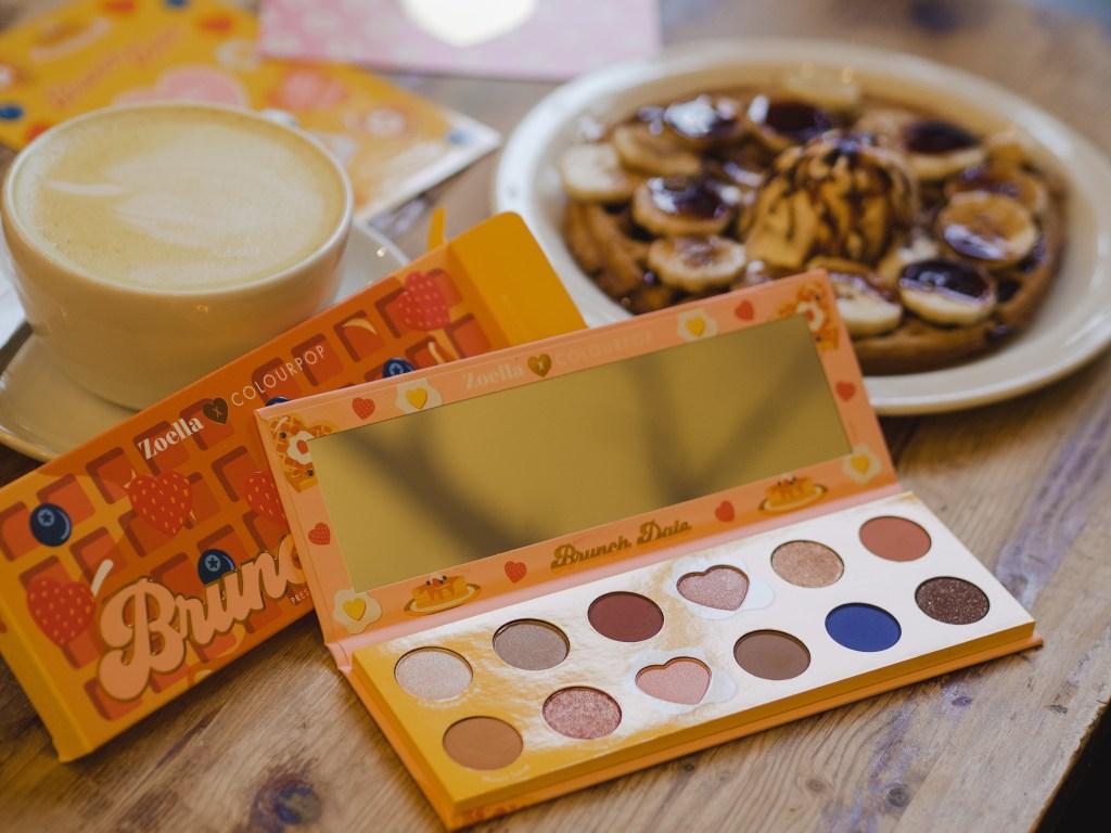 zoella x colourpop brunch date eyeshadow palette