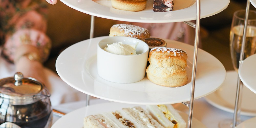 Afternoon Tea at Rhinefield House Hotel, New Forest, Hampshire