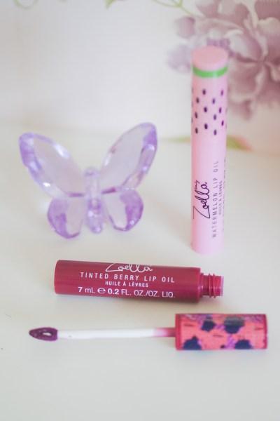 zoella fruits beauty lip oil