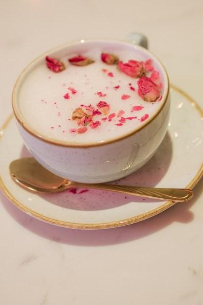 Bloom & Bean Liverpool Rose Latte