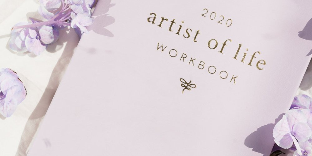 Lavendaire 2020 Artist Of Life Workbook Review