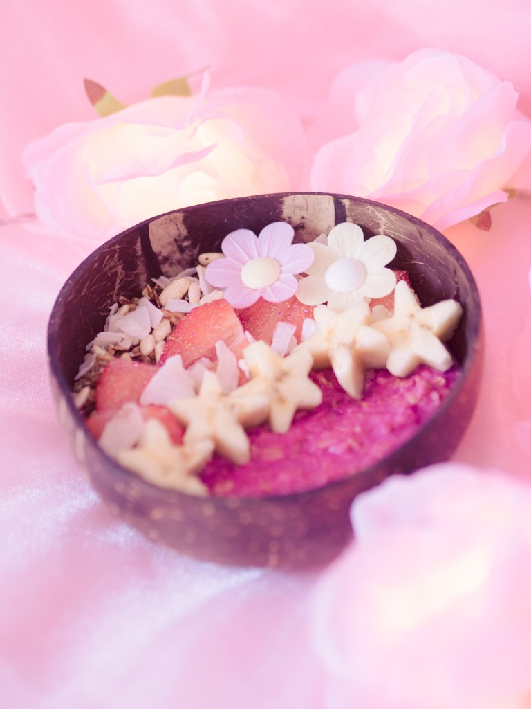 pretty-pea-protein-pink-porridge-with-raw-nice-pink-pitaya-powder-for-gerd-and-gastroparesis-breakfast-ideas-for-gastroparesis