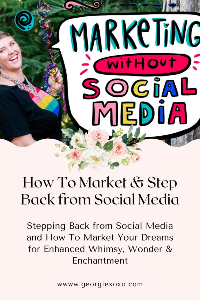 how to market without social media leonie dawson
