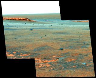 Meteorite accumulation at Victoria Crater