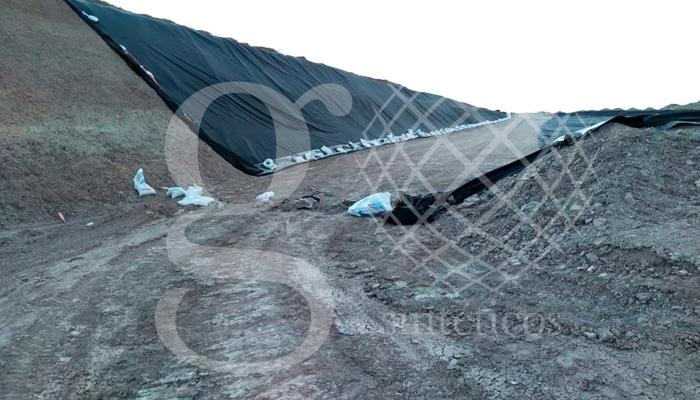Se concluyó la obra de 20000 metros cuadrados de HDPE y doble capa de geotextil en Nuevo Laredo. ¡Felicidades al equipo!