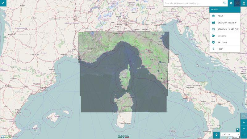 MapStore 2 Sample Map