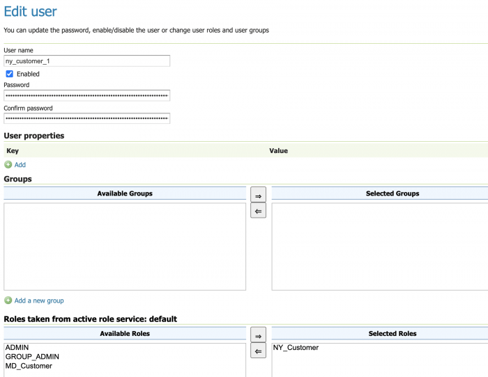 Adding a new user to the NY data product