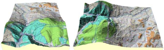 Carta Geologica 3D