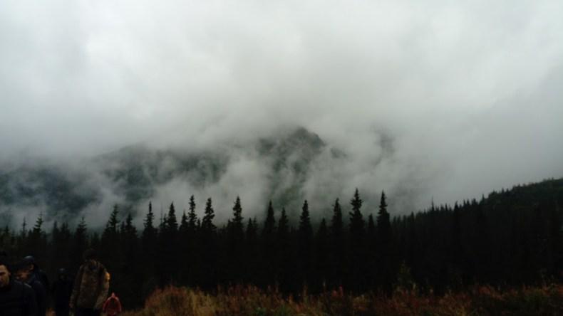 Chmury przysłaniają już niemal wszystko