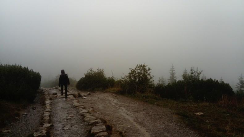 Dochodzimy do Przełęczy Między Kopami