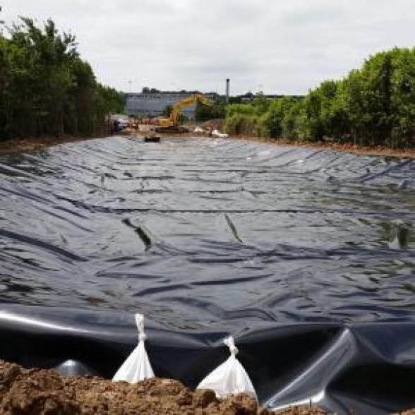 Attenuation Ponds designed and installed