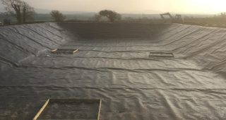 Farm Slurry Lagoon Liners in Chirk - Picture 3