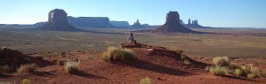 panorama geologia monument valley sole tramonto mindfullness