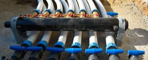 sonde geotermiche collettori e regolatori di portata