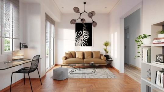 interior design Greece renovation helix image works 3d visualisation