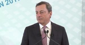 """Draghi: """"Inflatie is gunstig voor schuldenaren"""""""